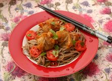 Asian Noodles Stock Photography