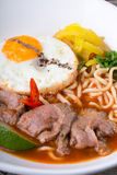 Asian noodles soup Stock Photos
