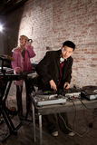 Asian novo DJ foto de stock royalty free
