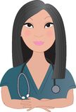 Asian Nurse Stock Images