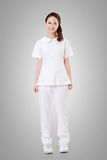 Asian nurse Stock Photo