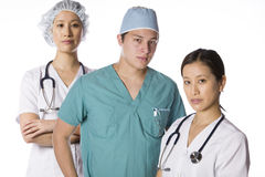 Asian nurse and doctors Stock Photography