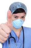 Asian Nurse Success Royalty Free Stock Photo