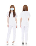 Asian nurse Stock Photo