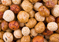 Asian nuts Royalty Free Stock Photography