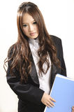 Asian office lady Stock Images
