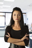 Asian office worker Royalty Free Stock Photos