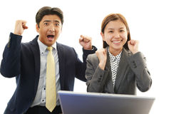 Asian office workers Stock Photography