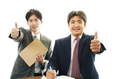 Asian office workers Stock Photos