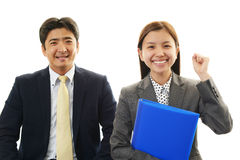 Asian office workers Stock Image