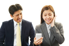 Asian office workers Stock Images