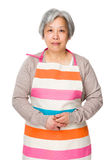 Asian old housewife Stock Images