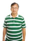 Asian old man Stock Photo
