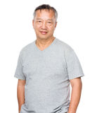 Asian old man Royalty Free Stock Photography