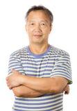 Asian old man Stock Photos