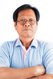 Asian old man Stock Photography