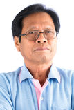 Asian old man Stock Images