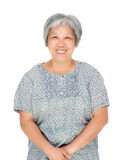 Asian old woman Royalty Free Stock Photography