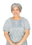 Asian old woman Royalty Free Stock Images