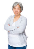 Asian old woman Stock Photo