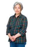 Asian old woman Stock Image