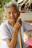 Asian old woman,Vietnamese senior Royalty Free Stock Photography