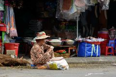 Asian old women Royalty Free Stock Photos