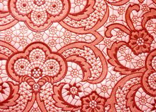 Asian ornament. Background of asian ornament, red elements Stock Image