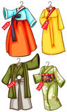 Asian outfits Royalty Free Stock Photography