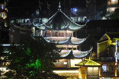Asian Pagoda Fenghuang Village China Royalty Free Stock Photos