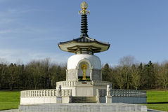 Asian Pagoda. Taken in Milton Keynes, UK Stock Photos
