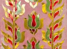 Asian paint art Royalty Free Stock Photo