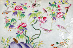 Asian paintings Stock Photo