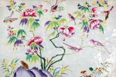 Asian paintings Stock Photo