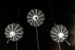 Asian paper lampion lights. In Hoi An, Vietnam stock photo