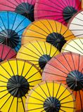 Asian Paper Umbrellas Stock Image