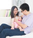 Asian parent nursing royalty free stock photos