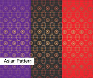 Asian Pattern Royalty Free Stock Photo