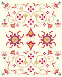 Asian pattern design Royalty Free Stock Image