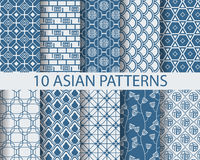 Asian patterns Stock Image