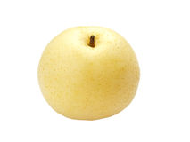 Asian pear in macro Stock Images