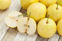 Asian pears Royalty Free Stock Photos