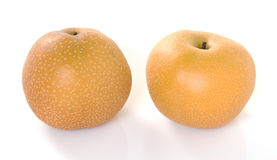 Asian Pears Duo Stock Photos