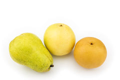 Asian pears and pear Stock Photography
