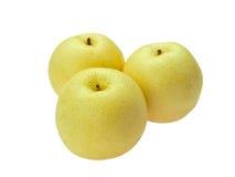 Asian pears trinity Royalty Free Stock Image