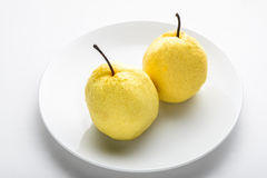Asian pears Royalty Free Stock Photography