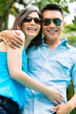 Asian people in exotic environment Stock Images