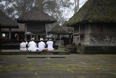 Asian people praying Stock Image
