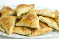 Asian pies with meat Stock Photography