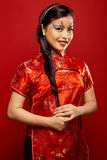 Asian Plastic Doll stock photo